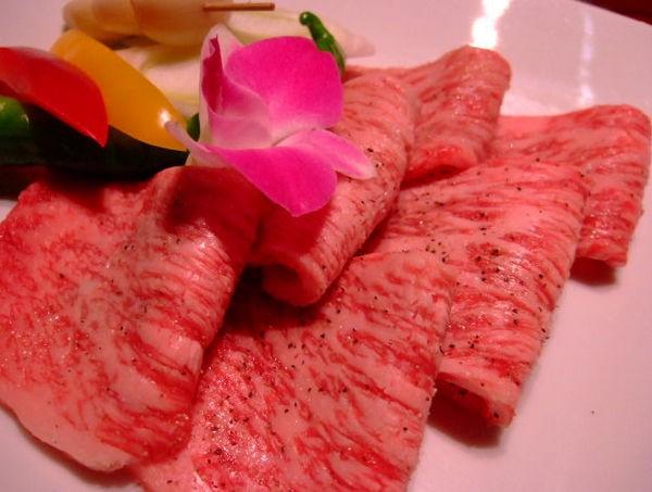 一緒に食べた焼き肉の画像